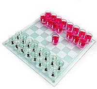 Алко игра Шахматы с рюмками
