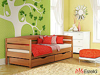 """Кровать деревянная """"Нота Плюс"""" 800х1900 (щит)"""