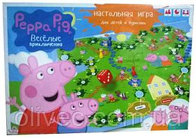"""Настольная игра """"Peppa pig"""""""