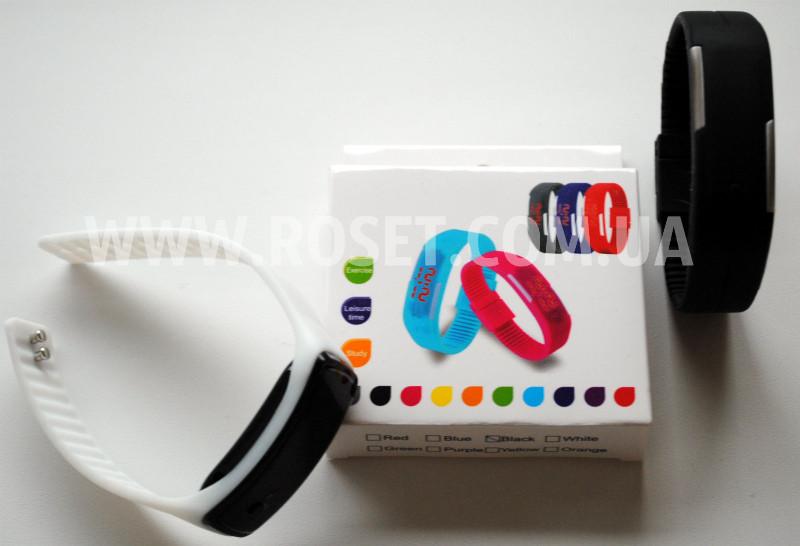 Часы Led детские Jelly Electronic Watch Black&White (разные цвета) - Интернет-магазин «Росет» в Киеве