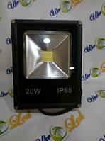 Светодиодный прожектор 20Вт 6500К 1300Лм Slim Eco UkrLed
