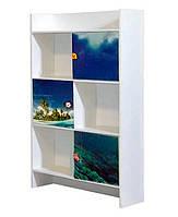 Книжный шкаф Мульти Дельфины