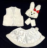 Карнавальный костюм Зайка девочка 1