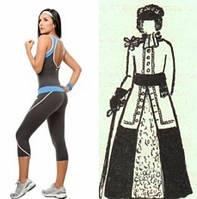 Жіночий спортивний костюм: історія виникнення
