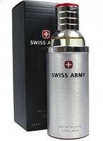 Мужская туалетная вода Swiss Army Victorinox Swiss Army  ( черная коробка с красным крестом )