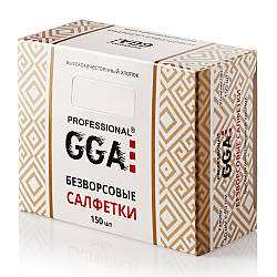 Безворсовые салфетки GGA Professional 150 шт