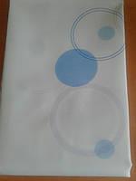 Штора для ванной Miranda голубая, фото 1
