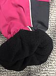 Штаны утеплённые (плащёвка) для девочек 86 см, фото 3