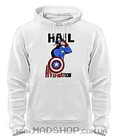 Толстовка Капитан Америка Hail Hydration