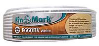 Коаксиальный кабель FinMark F660BV Белый (Бухта 100м)
