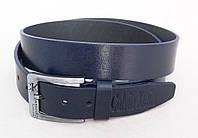 Ремень мужской кожаный Calvin Klein Jeans синий