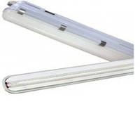 Светильник пылевлагозащищенный LED TSF7-9W  LED  605*135*45mm    1x9вт  4000-4500K  стекло матовое