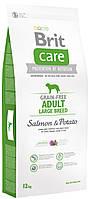 Беззерновой корм для собак крупных пород Brit Care Large Breed Salmon & Potato