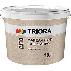 Краска-грунт для штукатурки Triora, 10 л