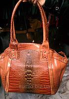 Женские сумки имиитация кожи крокодила