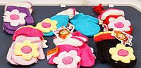 Варежки детские одинарные с игрушками Come on Baby, ассорти, Z-99