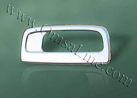 Накладка на ручку двери багажника (нерж.) - Renault Kangoo (2008+/2013+)