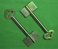 Заготовка ключа Двухбородый d- 8,0 L-85мм. отверстие