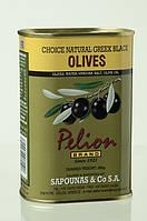 Оливки черные с косточкой Pelion Black Greek Olives, 500 г.
