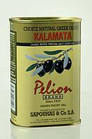 Оливки черные Каламата с косточкой Pelion Black Greek Olives Kalamata, 500 г.