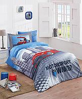 Красивое постельное бельё для подростков Halley Home HIZLI SV23