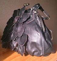 Красивые женские сумки, с застежкой поцелуйчик, фото 1