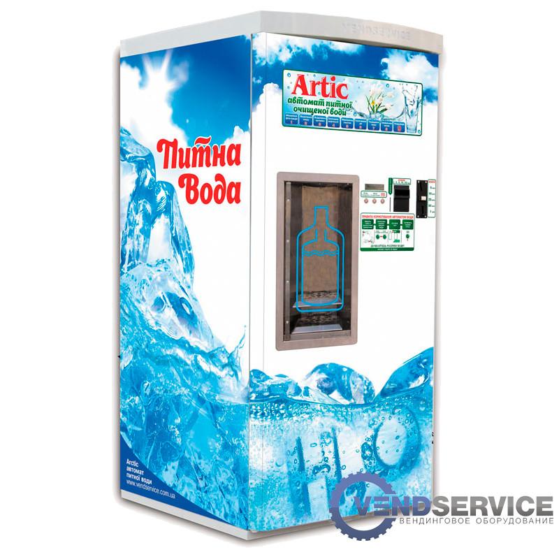 """Автомат з продажу води """"ARTIC-1 CS-4"""" (підлоговий з вбудованою системою очищення), VendService З УТЕПЛЕННЯМ"""