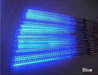 Гирлянда Метеоритный дождь LED 45 см 8 штук: синий цвет