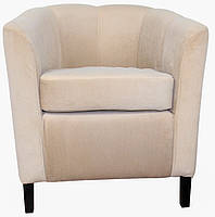 Кресло Баффи Ножки из массива ясеня (цвет орех, бук, венге, махагон)