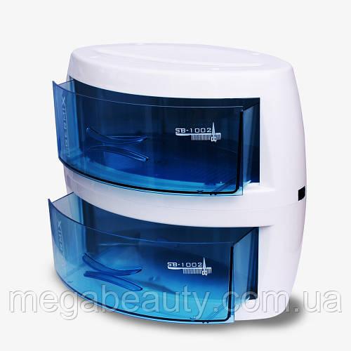 УФ стерилизатор двойной Germix YM-9001B для маникюрного, парикмахерского и косметологического инструмента