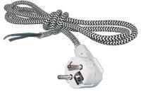 Шнур-провод утюжный с вилкой для утюга 1,5 м (3х жильный)ST460