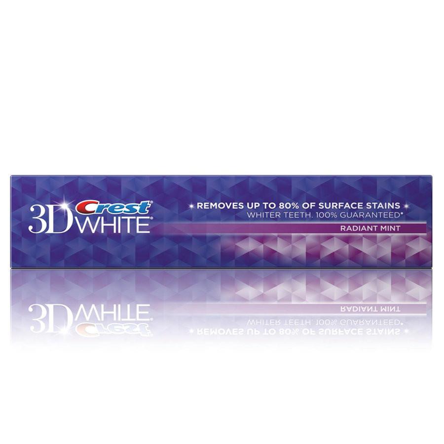 Crest 3D Radiant Mint Flavor - Отбеливающая зубная паста, 99 г