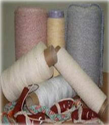 Нить-шпагат для сарделек бело/цветная витая 410 текс, фото 2