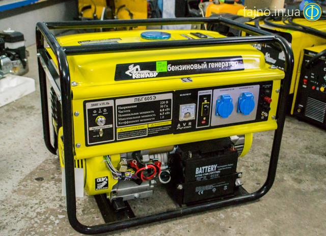 Бензиновый генератор Кентавр ЛБГ 605Э фото 1