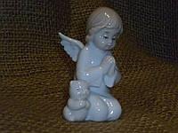 Ангелочек фарфоровая статуэтка ― фигурка итальянской компании Pavone VS-173, 7 сантимтров высота