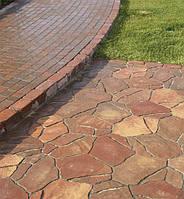 """Тротуарная плитка """"Песчаник"""" 6 см, модэна"""