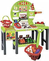 """Продуктовый супермаркет Ecoiffier """"Chef"""" с корзинами и продуктами (001747)"""