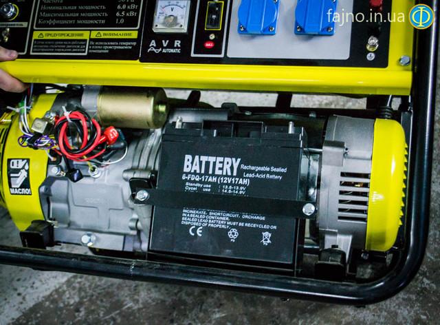 Бензиновый генератор Кентавр ЛБГ 605Э фото 4