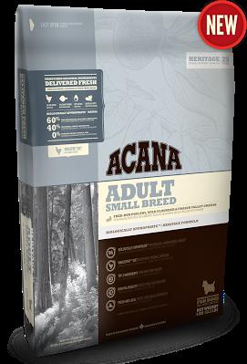 ACANA ADULT SMALL BREED Біологічно відповідний корм для дорослих собак малих порід (старше 1 року) 0,340