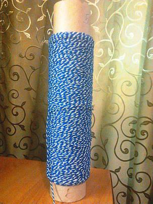 Шпагат-нитка для сарделек 450 текс с увеличенным содержанием цвета (до 50 %), фото 2