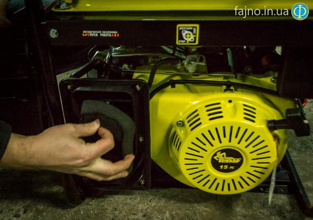 Бензиновый генератор Кентавр ЛБГ 605Э фото 6