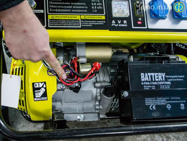 Бензиновый генератор Кентавр ЛБГ 605Э фото 8