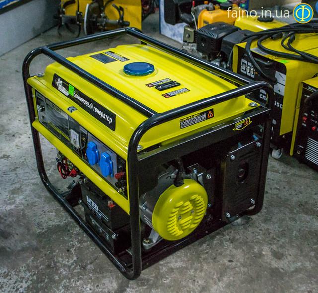 Бензиновый генератор Кентавр ЛБГ 605Э фото 9