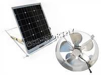 Вентилятор на солнечной батарее 29Вт