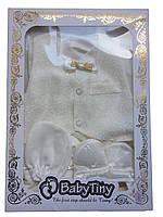 Детские наборы для крещения. для мальчиков. размеры от 0 до 3 месяцев