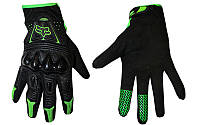 Мотоперчатки кожаные FOX MS-368-BG