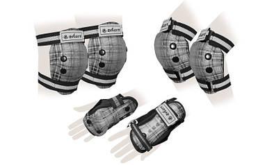 Защита для роллеров детская SK-4678BK