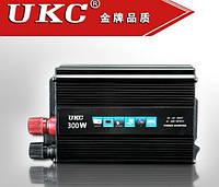 Преобразователь напряжения в машину AC/DC 300W SSK: КПД 90%, частота на выходе 50Гц, розетка, USB