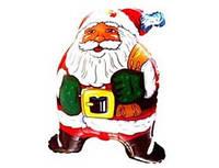 Фольгированный шар 901518 Санта Клаус