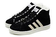 ЗИМНИЕ МУЖСКИЕ КРОССОВКИ Adidas Winter Originals Blck 41